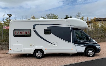 AUTO TRIAL APACHE 634 MOTORHOME EXCELLENT CONDITION HARDLY USED